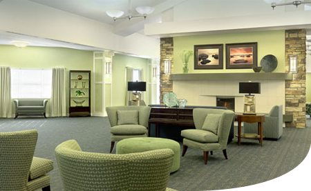 Home who says a nursing home has to feel like a nursing Nursing home architecture
