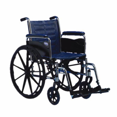 "Invacare Tracer EX2 18"" x 16"" Frame with Removable Fixed Height Desk Length Arm Wheelchair"