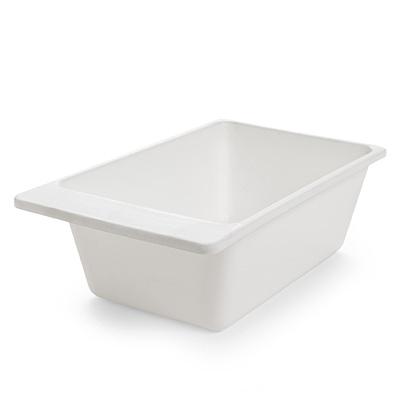 Invacare COMMODE PAN SQUARE WHITE