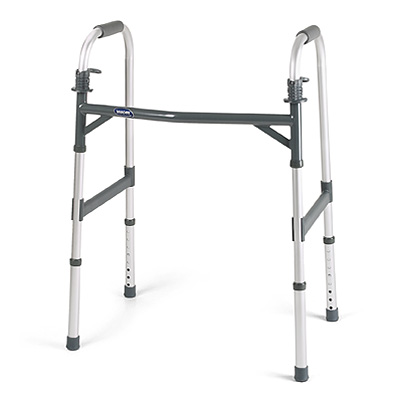 Invacare Heavy-Duty Dual-Release Adult Paddle Walker