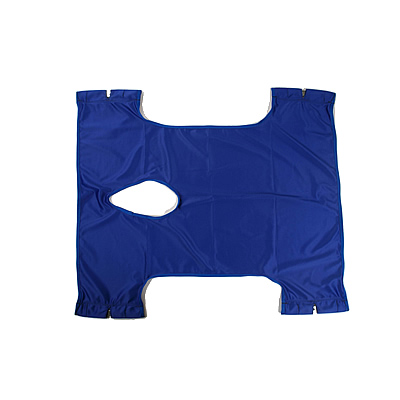 Invacare One Piece without Headrest with Commode Opening