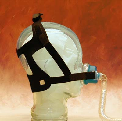 Invacare SleepNet Strap Style Head Gear - Large