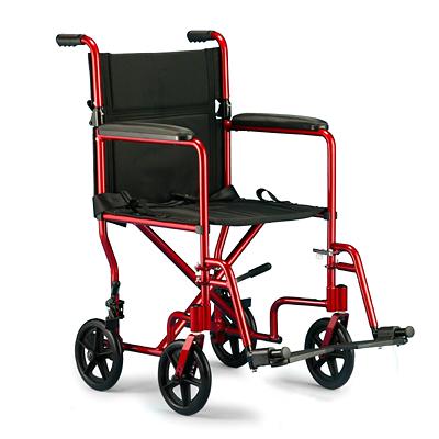 Invacare Aluminum Transport Chair